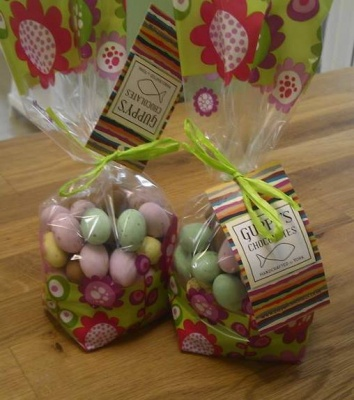 Speckled Chocolate  Eggs