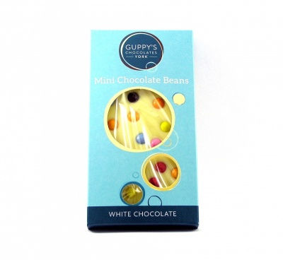 White Chocolate Mini Beans Bar