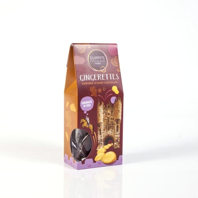 Gingerettes Enrobed in Dark Chocolate
