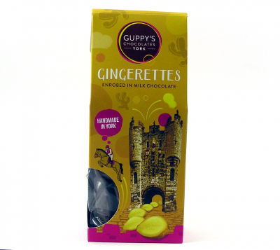 Gingerettes Enrobed in Milk Chocolate