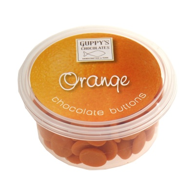 Orange Flavoured Chocolate Buttons