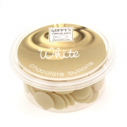 White Flavoured Chocolate Buttons