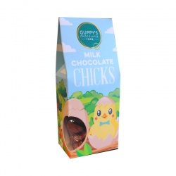 Milk Chocolate Chick Shapes