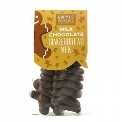 Milk Chocolate Gingerbreadmen Shapes