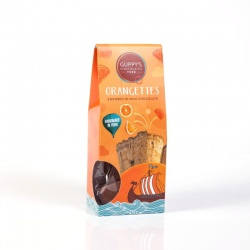 Orangettes Enrobed in Milk Chocolate