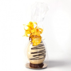 Medium White Chocolate Lemon Meringue Easter Egg