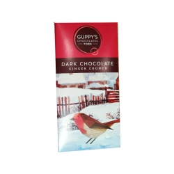 Dark Chocolate with Ginger Crunch