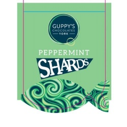 Dark Peppermint Shards 90g