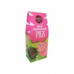 Milk Chocolate Pig Shapes